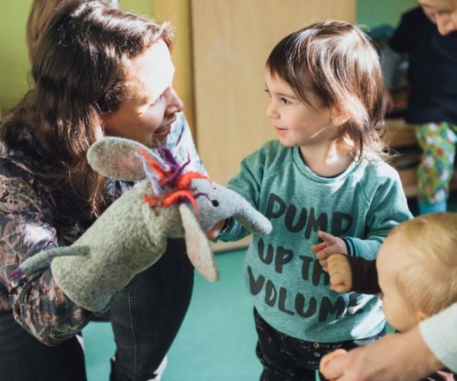 Foto Lilo Lausch und Kinder