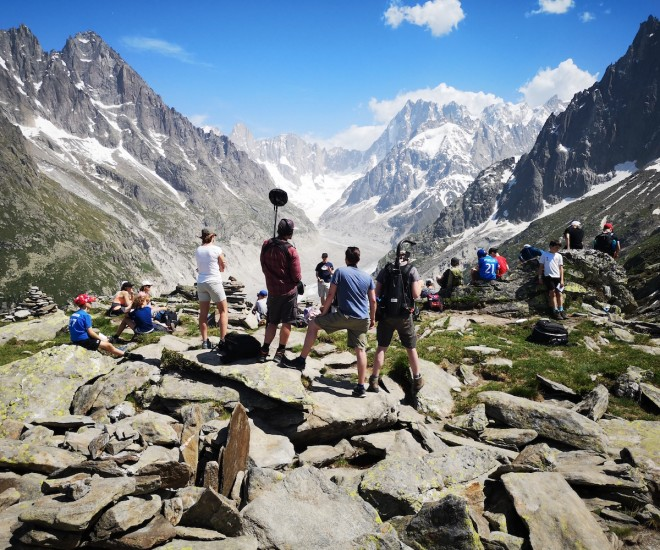 Foto Teachers for Life_behind the scenes Berge