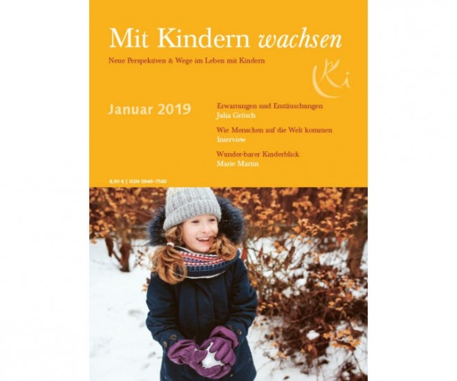 Cover Zeitschrift Mit Kindern wachsen