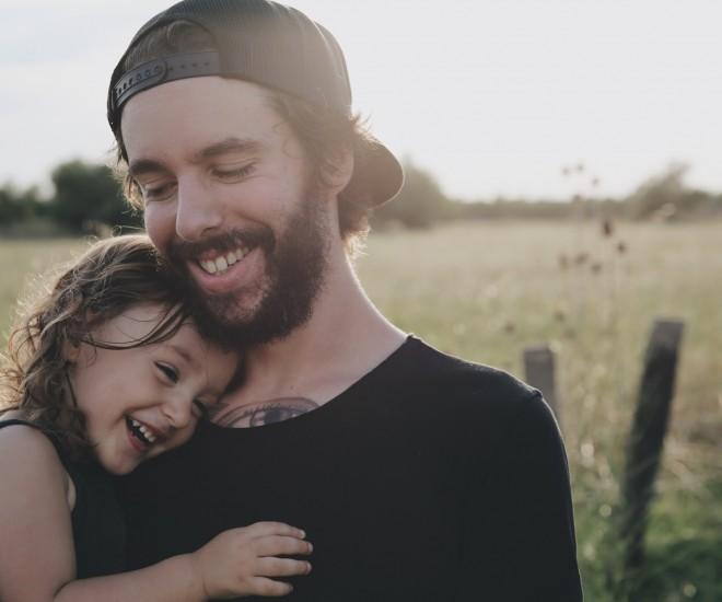 Foto Vater und Tochter
