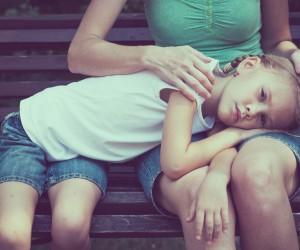 Kind trösten